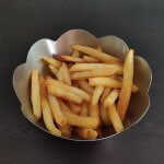 Cold Pressure Fried French Fries